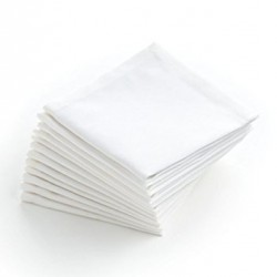 Napkin  Quilted Cocktail White