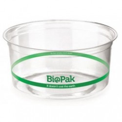 Eco Friendly BioPlastic Clear Container - 360ml