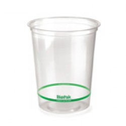 Eco Friendly BioPlastic Clear Container - 960ml