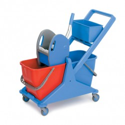 Sabco Dual Bucket Trolly With Press