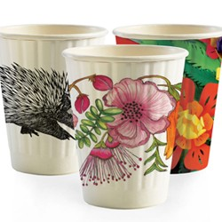 Eco Friendly Hot Paper Cup - 8oz BioCup – Double Wall