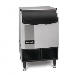 Ice-O-Matic Self Contained Cube Ice Machine with Castors 96kg Output ICEU225
